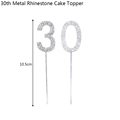 30th Cake Toppers