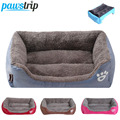 S-3XL 9 Colors Paw Pet Sofa Dog Beds Waterproof Bottom Soft Fleece Warm Cat Bed House Petshop cama perro preview-1