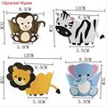 12pcs 4types animals