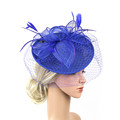 Womens Felt Hat Wedding Bridal Hats and Fascinators/headpiece/party Hat/corsage Elegant Black Bridcage Party Hair Accessories preview-4