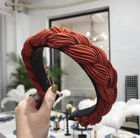 coral red  hairband 1