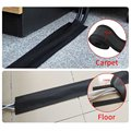 1M Soft Adjustable Hook And Loop Office Desk Wire Cable Cover For Floor/Carpet/Trunk/Desk Office Supplies preview-6