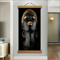 Magnetic Wooden Portrait Photo Frame Canvas Frame Art Belt Suction Iron Poster Frame Family Christmas Home Gifts 21-70cm preview-2