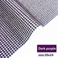 dark purple 20x24cm