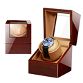 High Class Motor Shaker Watch Winder Holder Display Automatic Mechanical Watch Winding Box Jewelry Watches Box preview-2