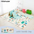 Foldable Baby Play Mat Xpe Puzzle Mat Educational Children's Carpet in the Nursery Climbing Pad Kids Rug Activitys Games Toys preview-1