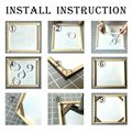 Wooden Pictures Frame For Wall Canvas Frame Diamond Painting Large Size DIY Picture and Poster Wall Frame Pine Composite Decor preview-5