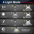228 144 LED Solar Light Outdoor Solar Lamp PIR Motion Sensor Light Waterproof Solar Powered Sunlight for Garden Decoration preview-3