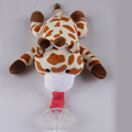 Baby Cute Cartoon Pacifier Chain Clips Newborn Plush Animal Toys  Soother Nipples Holder baby accessories (not include Pacifier) preview-5