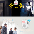 KERUI M120 Smart 100db PIR Infrared Anti-Theft Burglar Welcome Multifunction Human Motion Detector For Garage Shop Home Security preview-3