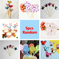5pc Cake Toppers