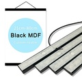 Black MDF