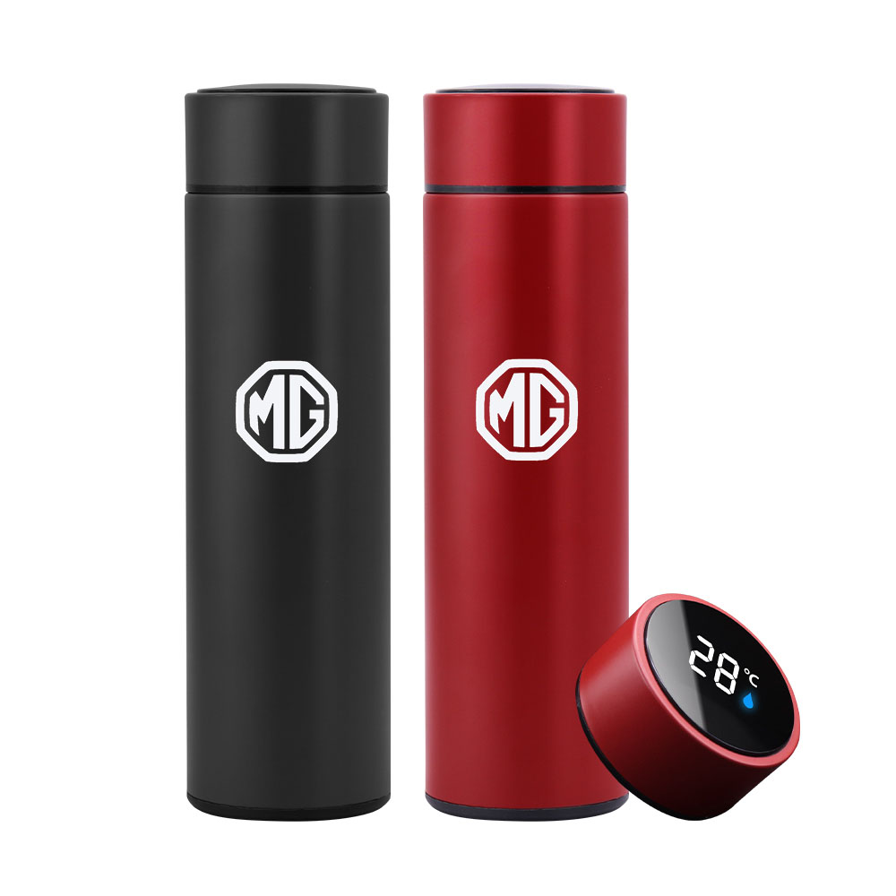 500ml Smart Thermos Bottle With Logo Temperature Display Thermo Mug For Lexus RX 300 IS 250 GX 400 UX 200 NX LX LS GS ES CT200