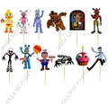 cake toppers12pcs