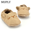 Adorable Infant Slippers Toddler Baby Boy Girl Knit Crib Shoes Cute Cartoon Anti-slip Prewalker Baby Slippers preview-2