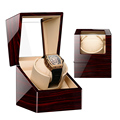 High Class Motor Shaker Watch Winder Holder Display Automatic Mechanical Watch Winding Box Jewelry Watches Box preview-4