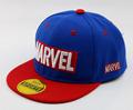 Cool Marvel LOGO Kid's Baseball Cap Avengers 2021 Spiderman Captain American Flat brim Hat Boys Girls Baby Children Caps preview-4