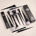 10Pcs Makeup Brushes Set Cosmetic Foundation Powder Blush Eye Shadow Blending Concealer Beauty Kit Make Up Brush Tool Maquiagem preview-1