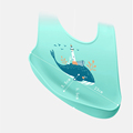 Baby Bibs Waterproof Silicone Feeding Baby Saliva Towel Newborn Cartoon Aprons Baby Bibs Adjustable Burp Cloths Bandana preview-5