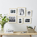 Modern Gold Aluminum Photo Pictures Frames 40x50 30x40cm A4 21x30 cm Wall Mounting with Mat for Poster Canvas Prints Home Decor preview-2