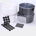 Velcros Self Adhesive Fastener Tape Dots 10/15/20/25/30mm Strong Glue Velcro Sticker Disc White Black Round Coin Hook Loop Tape preview-4