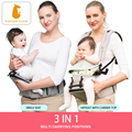 Kangarouse Baby Carrier Hipseat Multi-Functional Waist Stool Baby Slings for 0-36M KG-300 preview-3