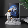 European Style Resin Astronaut Photo Frame Statuette Bedroom Frames Living Room Home Accessories Decoration Modern Ornaments preview-4