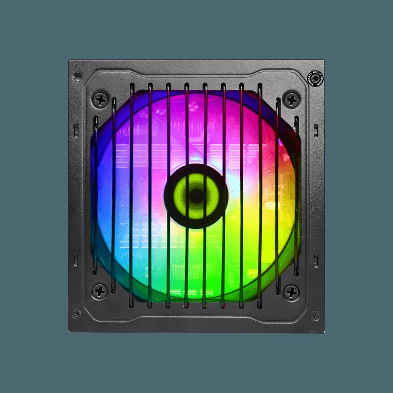 GameMAX Power Supply RGB PSU True Rated 800W Semi Modular 80 Plus Bronze RGB ATX PC Case Power Supply for Computer VP-800-M-RGB preview-4