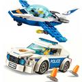 City Patrol Police Motorcycle Car Pursuit Prisoners Model Building Blocks Enlighten Action Figure Toys For Children preview-1