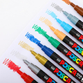 1pcs UNI Marker Marker PC-3M (POSCA) POP Poster Advertisement Water Resistant Office Student Painting Anime Hand-painted preview-3