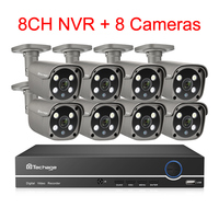 8CH NVR and 8 Camera