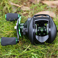 Sougayilang Anti-corrosion Baitcasting Reel 8.1:1 High Speed 12+1BB Wheel Freshwater Saltwater Metal Fishing Wheel 10KG Max Drag preview-6