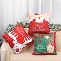 Merry Christmas Cushion Cover Santa Claus Elk Christmas Decoration For Home 2021 Christmas Ornaments Natal Navidad New Year 2022 preview-4