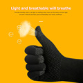 2pcs Hand Cover Game Controller for PUBG Sweat Proof Non-Scratch Sensitive Touch Screen Gaming Finger Thumb Sleeve Gloves preview-2