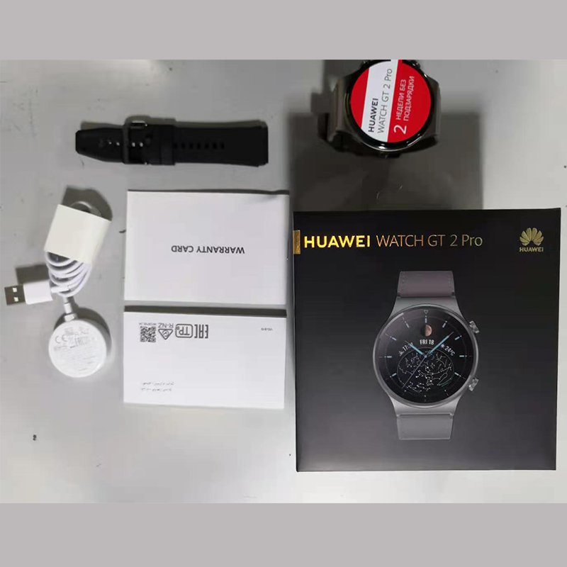 In stock Global Version HUAWEI Watch GT 2 pro SmartWatch 14 days Battery Life GPS Wireless Charging  Kirin A1 GT2 Pro preview-6