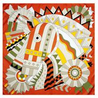 Horse 2 Orange