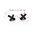 M4 M6 M8 M10 to 1/4  or 3/8 male to male Screw Mount Adapter for camera tripod camera photography accessories preview-4