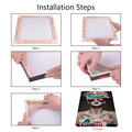 DIY Wood Frame For Stretched Canvas Paintings Ready To Hang On Wall Art Separate Frame For Posters And Prints Oil Painting preview-6