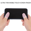 6 Pcs Sweat-proof Mobile Game Thumb Finger Sleeve Touch Screen Sensitive Gloves preview-1