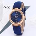 Fashion Women Leather Casual Watch Luxury Analog Quartz Crystal Wristwatch часы женские наручные смарт часы часы женские 2020 preview-5