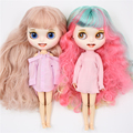 ICY DBS Blyth doll 1/6 bjd toy natural skin shiny face short hair white skin tan skin joint body 30cm girls gift anime girls preview-5