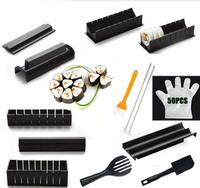 15 pcs Black Sushi