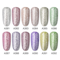 ROSALIND Gel Nail Polish Glitter Paint Hybrid Varnishes Shiny Top Base Coat For Nails Set Semi Permanent For Manicure Nail Art preview-2