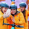 Smart4u City Urban Helmet Sport Adult Cycling Smart Signal Light CPSC/RoHS/EN1078/GB Certification Brake Sensor Lamp Weight 370g preview-5