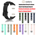 Silicone Strap For Huawei Band 6/6 Pro Strap With TPU Full Screen Protector Case Replacement Watchband For Honor Band 6 Strap preview-6