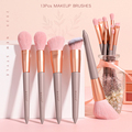 13PCs Makeup Brushes Set Soft Concealer Eyeshadow Foundation Blush Lip Eyebrow Brushes Set For Face Make-up Cosmetic Tools Kit preview-4