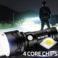 Super Powerful LED Flashlight L2 XHP50 Tactical Torch USB Rechargeable Linterna Waterproof Lamp Ultra Bright Lantern Camping preview-1
