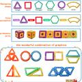 Big Size Magnetic Designer Construction Set Model & Building Toy Magnets Magnetic Blocks Educational Toys For Children preview-4