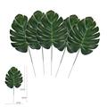 6 pcs Turtle Leaf