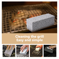 1/2Pcs BBQ Grill Cleaning Brick Block Barbecue Cleaning Stone BBQ Racks Stains Grease Cleaner BBQ Tools Kitchen Decorate Gadgets preview-2